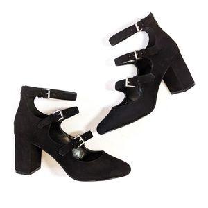ALDO Block Heel Mary Jane Pumps 8.5